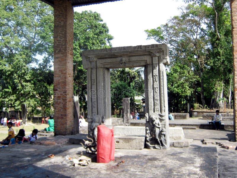 De ruïnes van DA Parbatiaa stock afbeeldingen