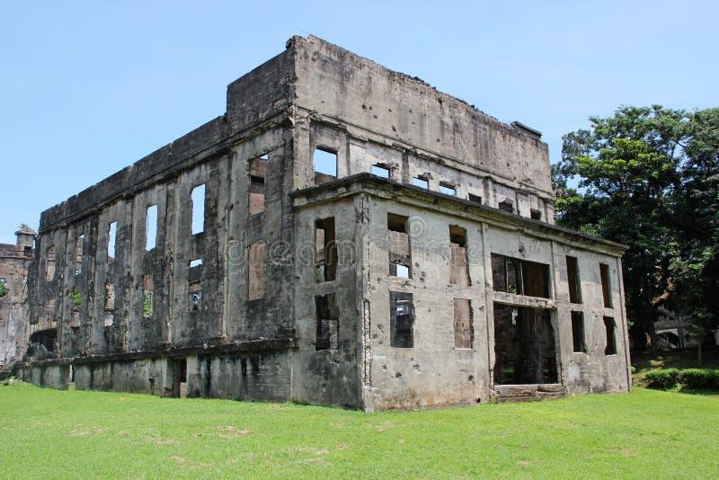 De Ruïnes van de oorlog royalty-vrije stock foto's