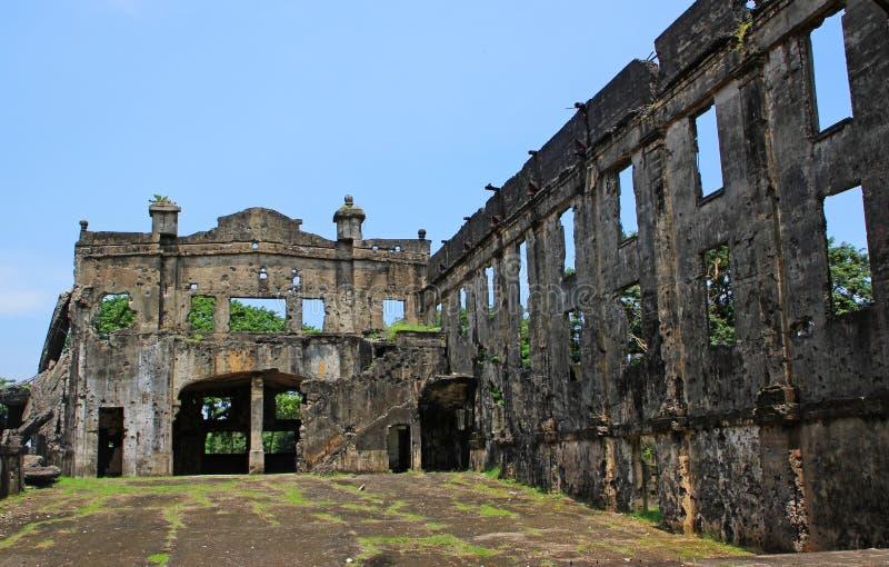 De Ruïnes van de oorlog - Binnenland royalty-vrije stock fotografie