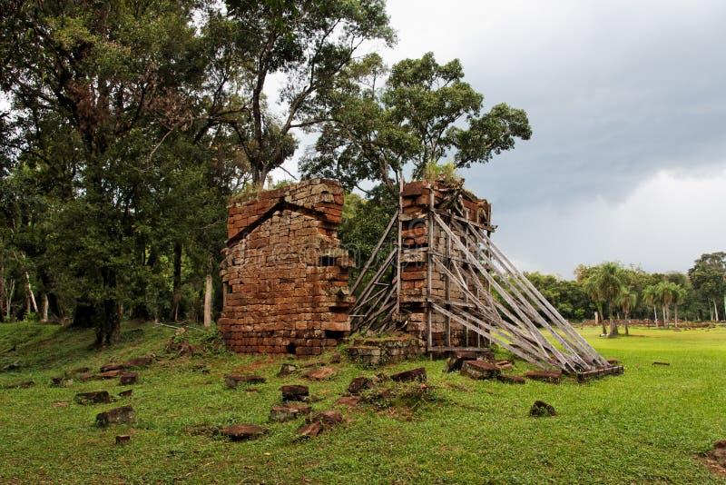 De Ruïnes van de Opdracht van Ana van de kerstman royalty-vrije stock afbeelding