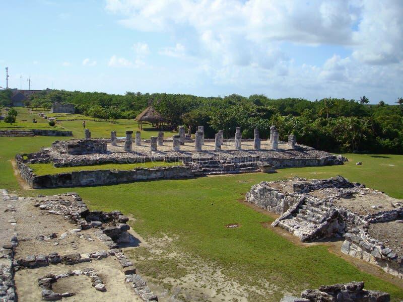 De Ruïnes van Gr Rey stock afbeeldingen