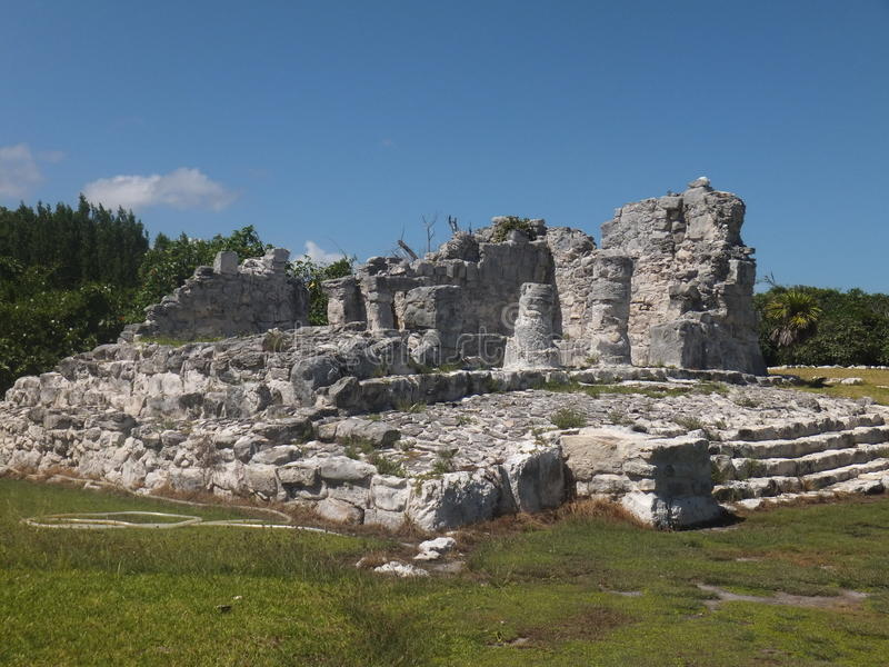 De Ruïnes van Gr Rey in Mexico royalty-vrije stock afbeeldingen