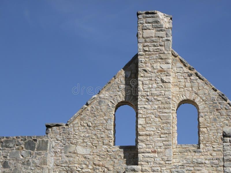 De Ruïnes van het kasteel royalty-vrije stock foto