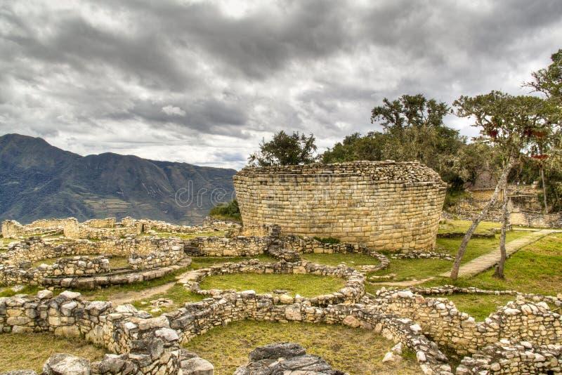 De ruïnes van Kuelap royalty-vrije stock afbeeldingen