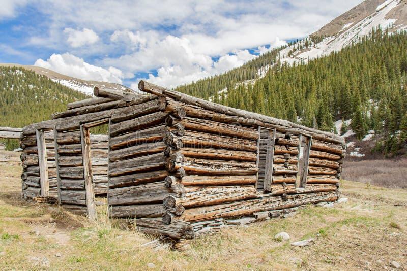 De Ruïnes van de onafhankelijkheidscabine stock afbeelding