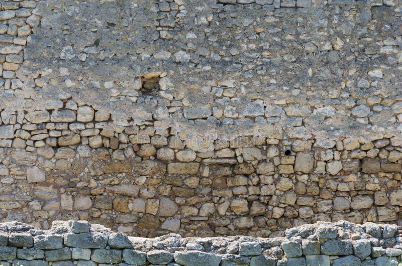 De ruïnes van de oude stad royalty-vrije stock afbeelding
