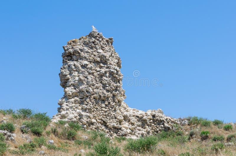 De ruïnes van de oude stad royalty-vrije stock foto's