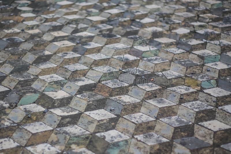 De ruïnes van Pompei stock foto