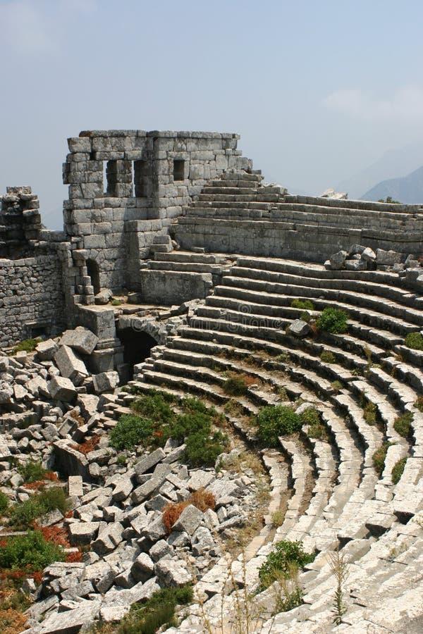 De ruïnes van Thermessos royalty-vrije stock foto's