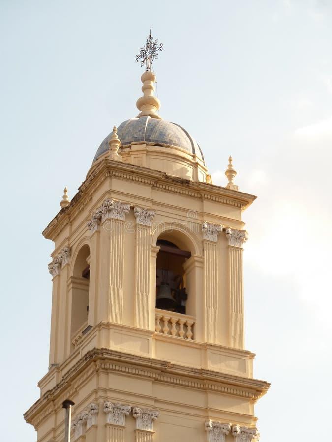 De ruïnesdeur van Poggioreale in balkon royalty-vrije stock foto's