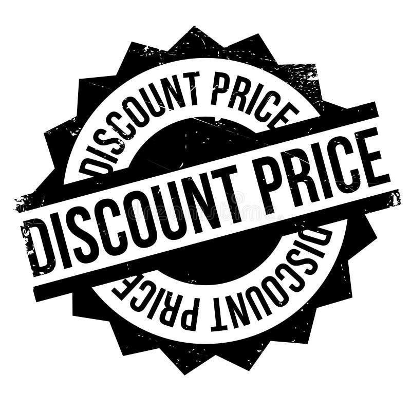 De rubberzegel van de kortingsprijs vector illustratie
