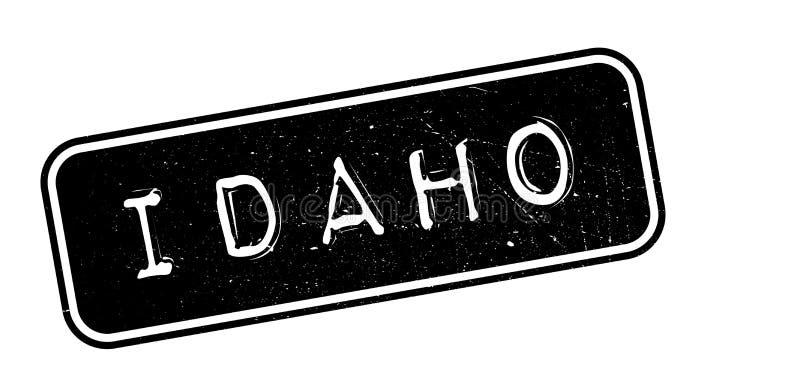 De rubberzegel van Idaho royalty-vrije illustratie