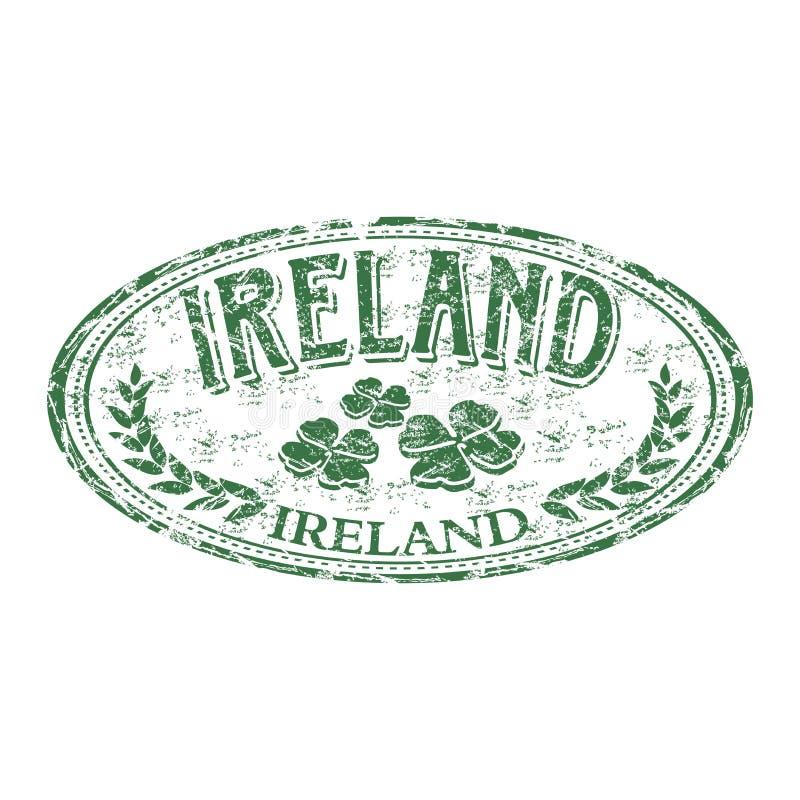 De rubberzegel van Ierland grunge vector illustratie