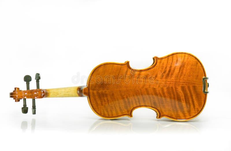 De rug van de viool royalty-vrije stock fotografie