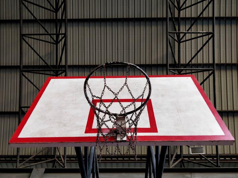De rugplank van het basketbal stock foto