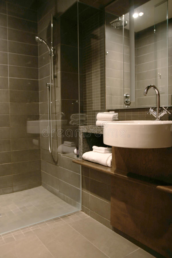 De ruimte van de douche