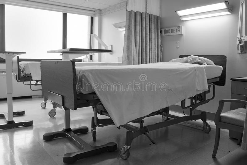 De ruimte van de lege patiënt royalty-vrije stock afbeeldingen