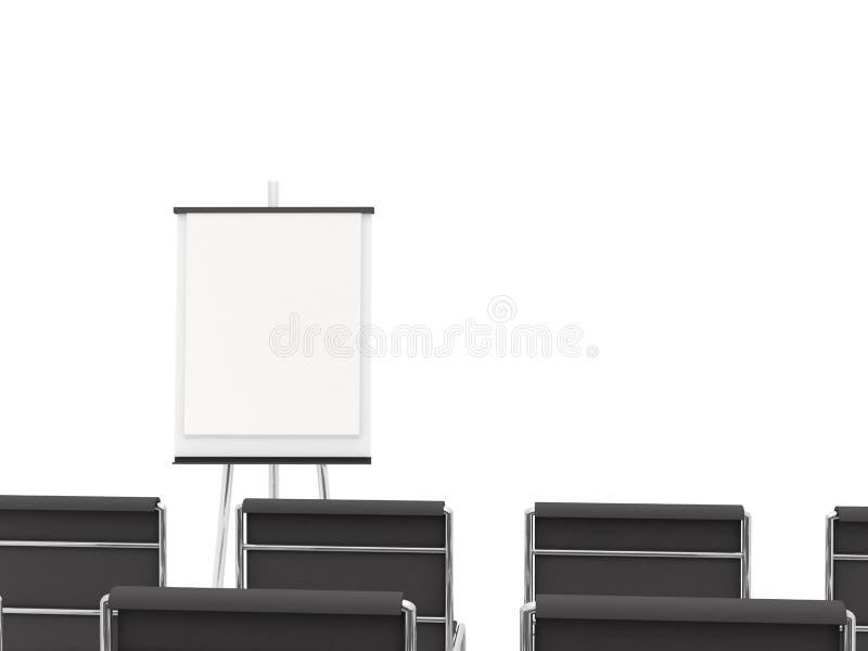 De ruimte van de opleiding vector illustratie