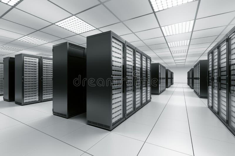 De ruimte van de server royalty-vrije illustratie