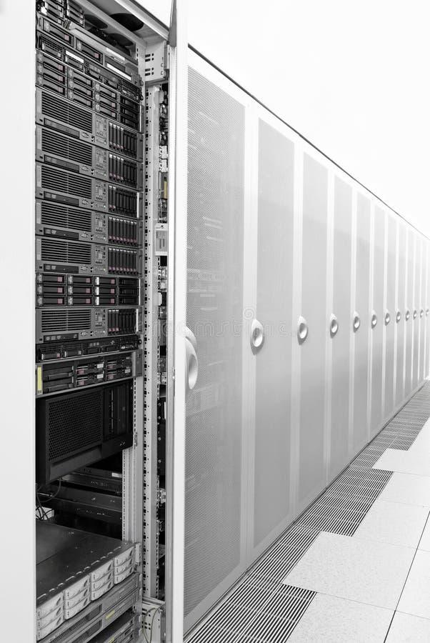 De ruimte van de server royalty-vrije stock foto