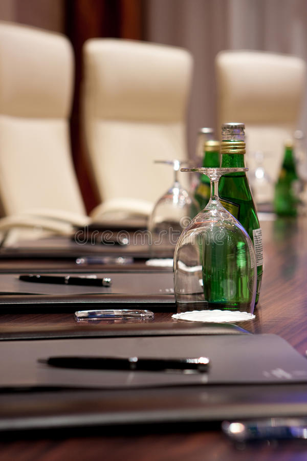 De ruimte van de vergadering