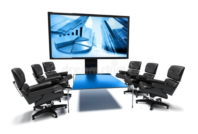 De ruimte van de vergadering vector illustratie