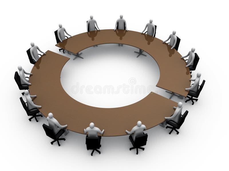 De ruimte van de vergadering #3 vector illustratie