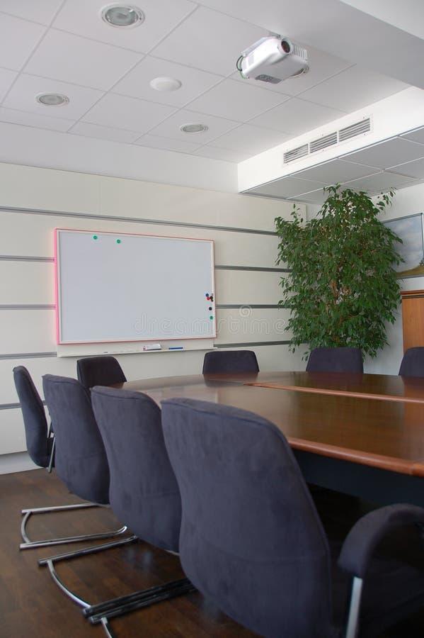 De ruimte van de vergadering stock afbeeldingen