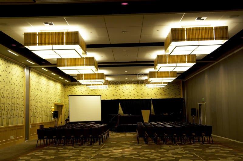 De ruimte van de vergaderingsconferentie stock fotografie
