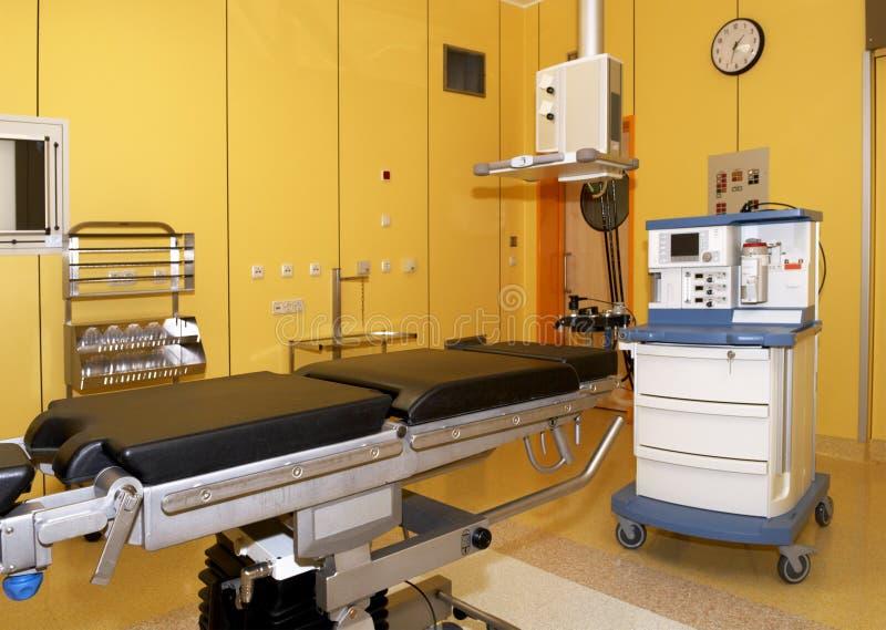 De ruimte van de verrichting in het ziekenhuis stock foto
