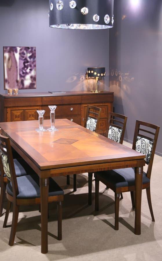 De ruimte van Dinning stock afbeelding