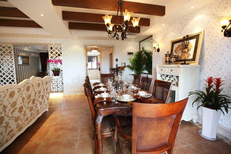 De ruimte van Dinning royalty-vrije stock afbeelding