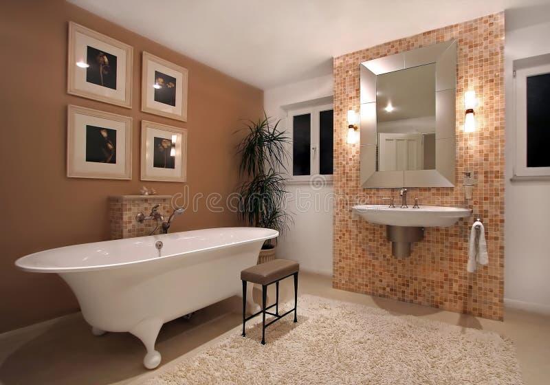 De ruimte van het bad stock afbeeldingen