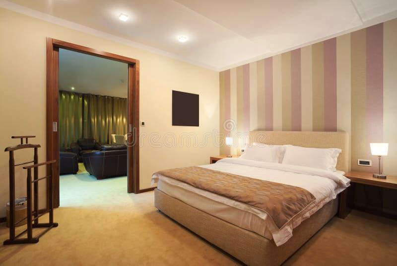 De ruimte van het hotel stock afbeeldingen