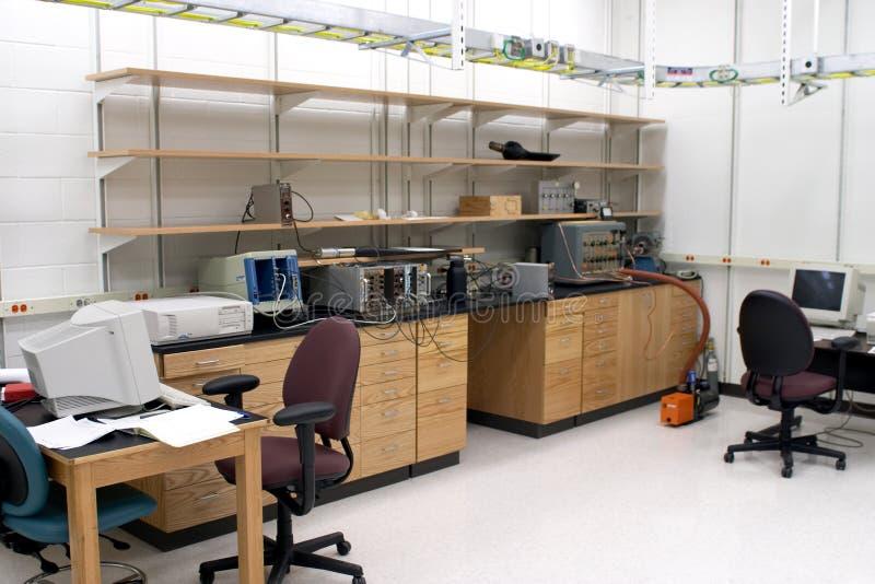 De ruimte van het laboratorium royalty-vrije stock afbeelding
