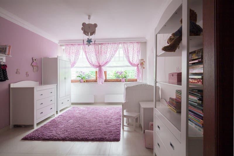 De ruimte van het meisje in het huis royalty-vrije stock fotografie