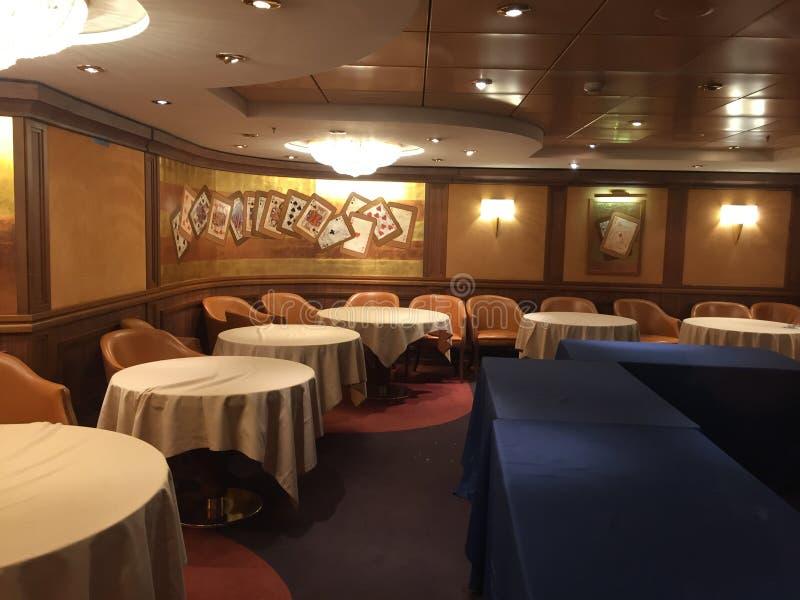 De ruimte van het pookkampioenschap in een cruisespaander royalty-vrije stock foto