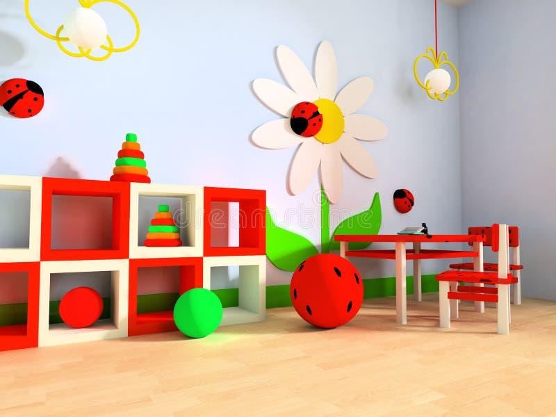 De ruimte van kinderen stock illustratie