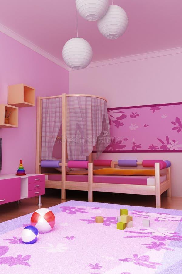 De ruimte van kinderen royalty-vrije illustratie
