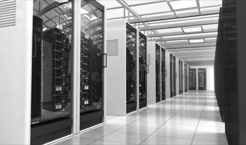 De ruimte van Techno stock illustratie