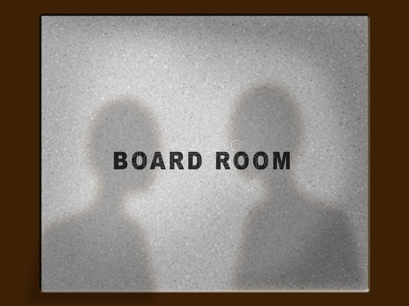 De Ruimtedeur Van De Raad Royalty-vrije Stock Afbeelding