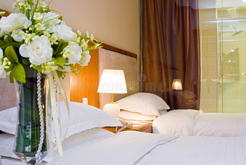 De ruimten van het hotel stock afbeeldingen