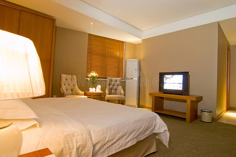 De ruimten van het hotel stock afbeelding