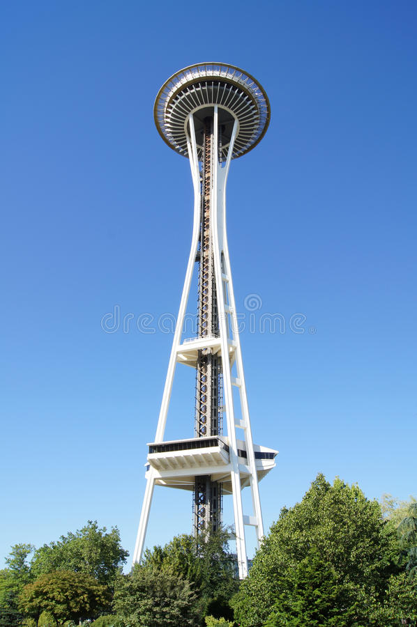 De RuimteNaald van Seattle royalty-vrije stock foto