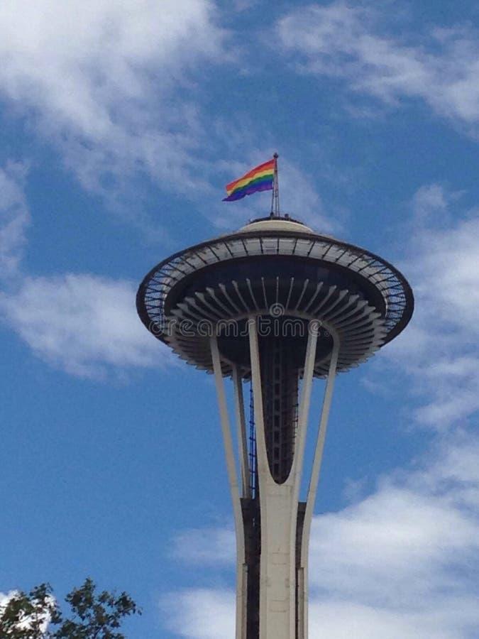 De Ruimtenaald van Seattle royalty-vrije stock foto's