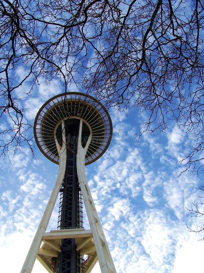 De Ruimtenaald van Seattle royalty-vrije stock afbeelding