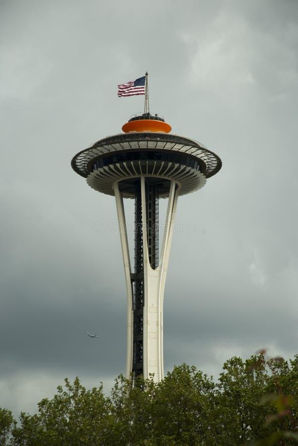 De RuimteNaald vijftigste van Seattle royalty-vrije stock afbeelding
