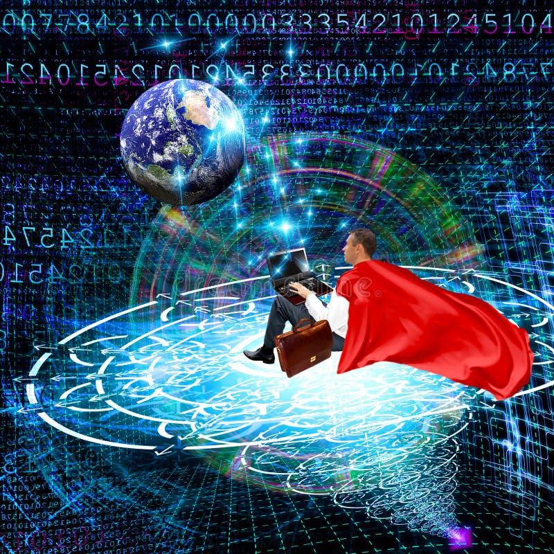 De ruimtevoorzien van een netwerktechnologieën Internet royalty-vrije stock foto's