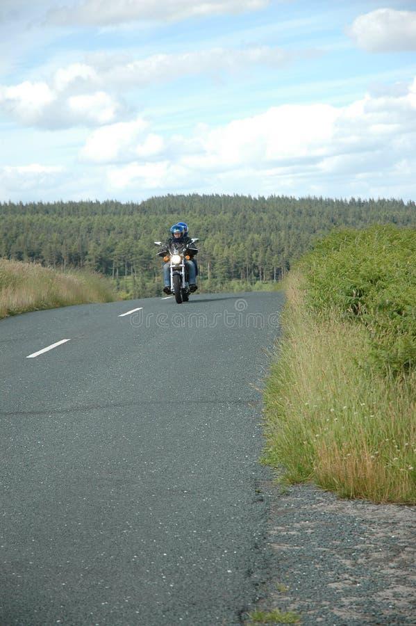 De Ruiter van de fiets royalty-vrije stock fotografie