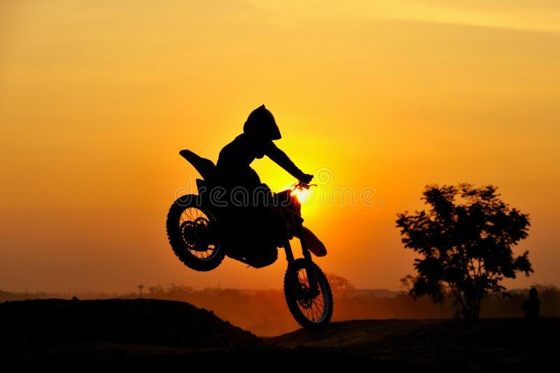 De ruiter van de motocross royalty-vrije stock foto